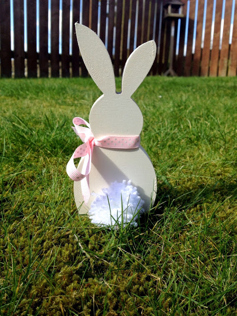 Wooden Easter Bunny DIY