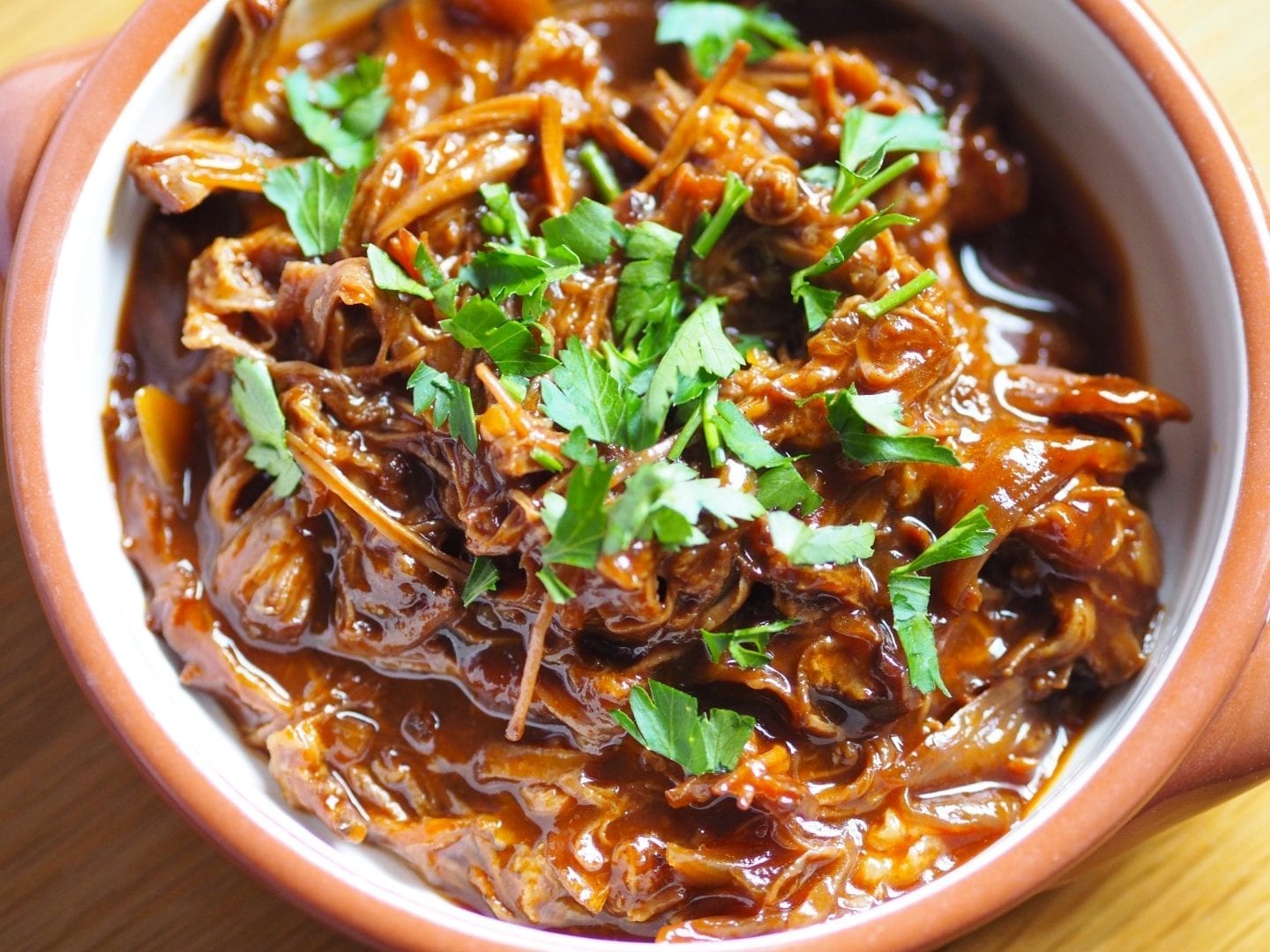 Slow Cooked BBQ Pulled Beef