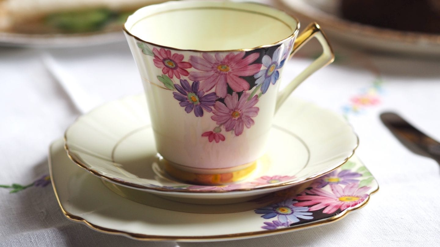How To Host A Vintage Tea Party