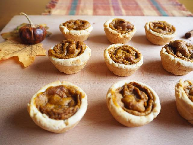Gluten Free Dairy Free Pumpkin Pies; Autumn Desserts