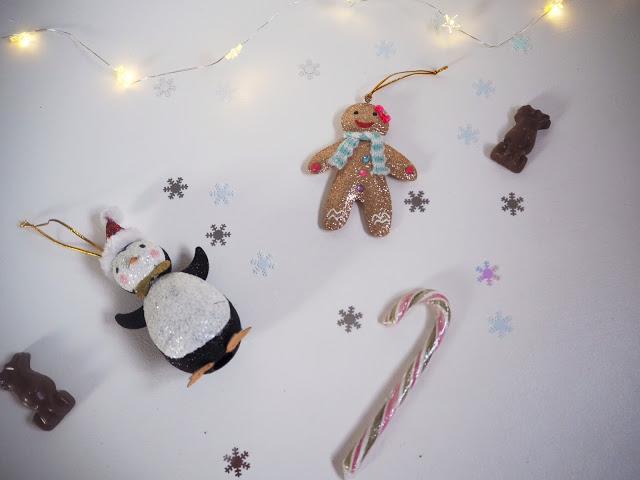 Christmas Decoration Haul; Accessorize Glittered Penguin; Accessorize Glittered Gingerbread Man