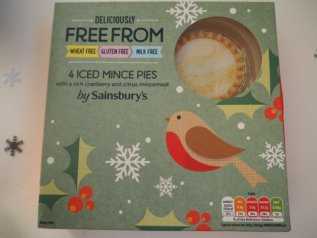 Sainsburys Free From Iced Mince Pies
