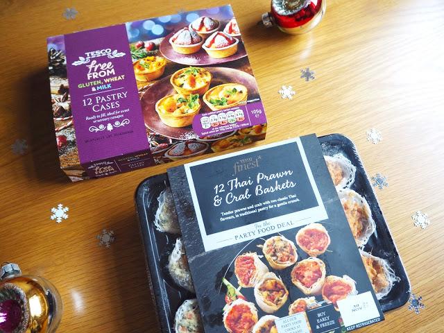Tesco Christmas Party Food