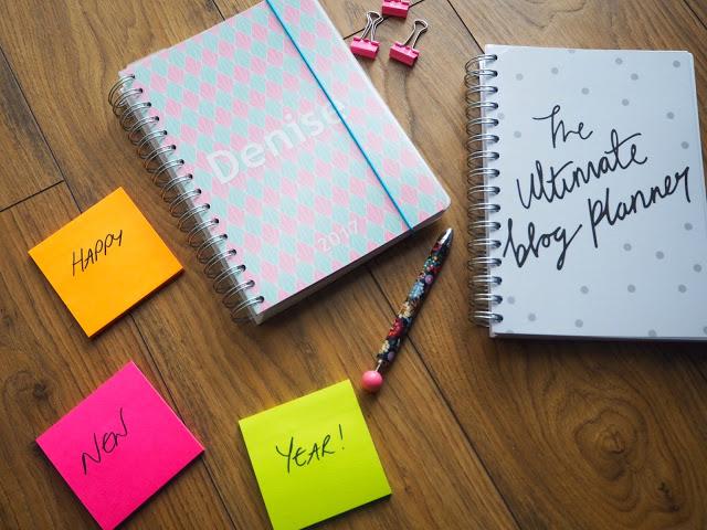 Personal Planner; Dot Creates Blog Planner; New Year Goals blog post
