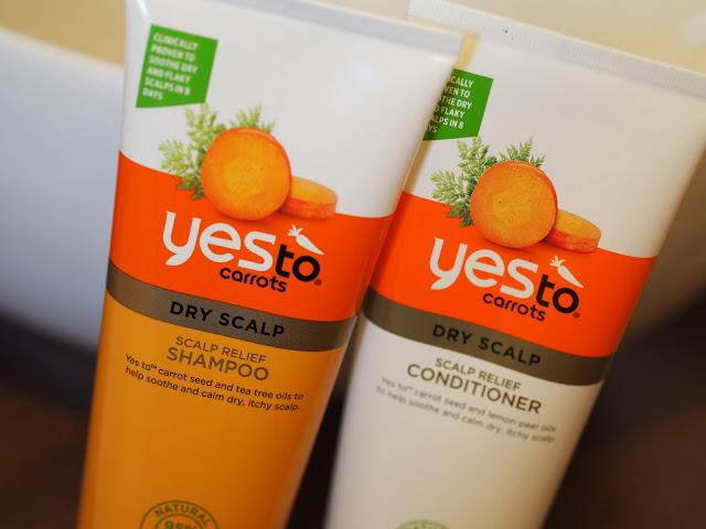 Yes To Carrots Shampoo & Conditioner; Cruelty Free Beauty