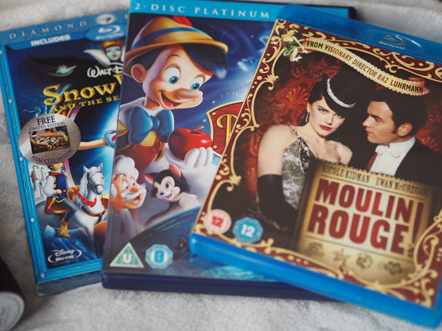Disney DVDs; Moulin Rouge DVD