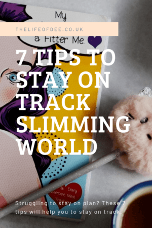 7 Tips To Stay On Track With Slimming World