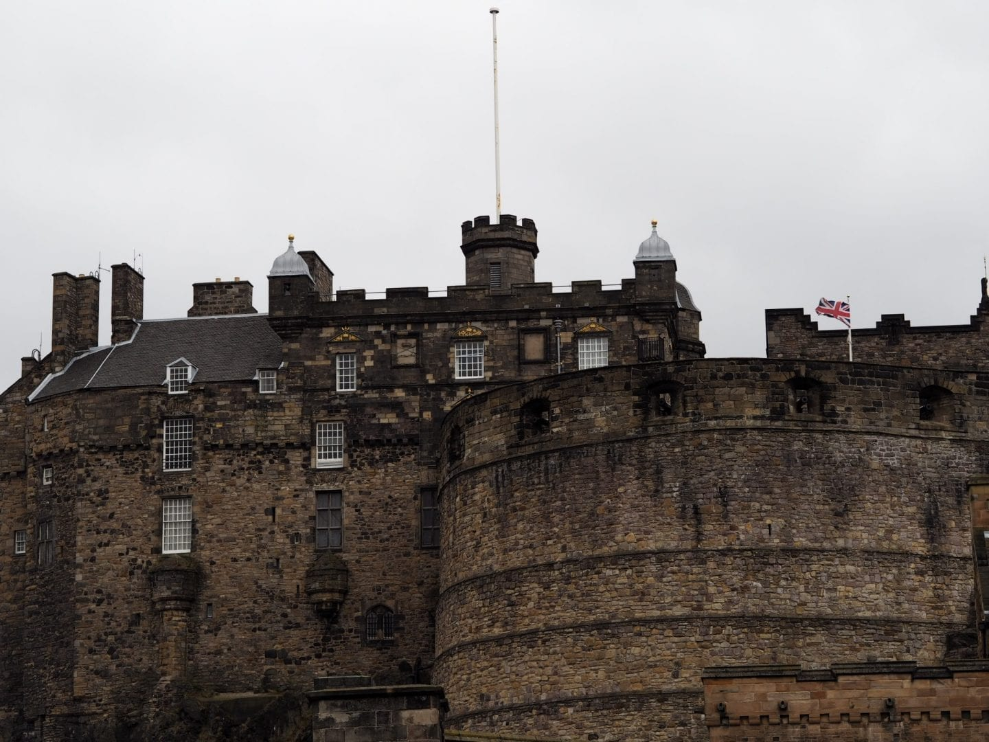 Edinburgh Castle Royal Mile Old Town