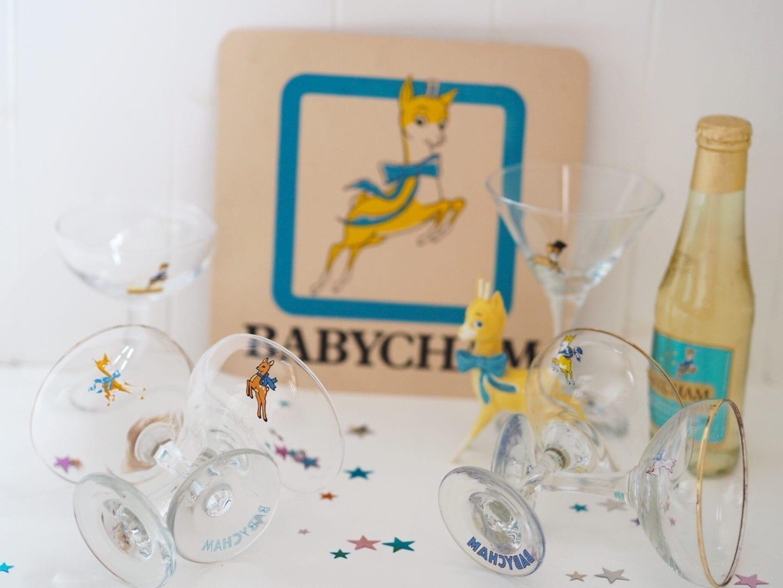 Babycham Glasses Through The Eras