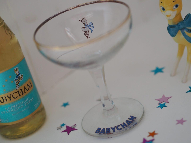 1950s Babycham Glass