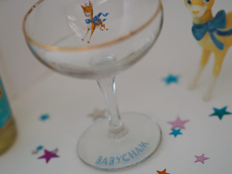 1960s Babycham Glass