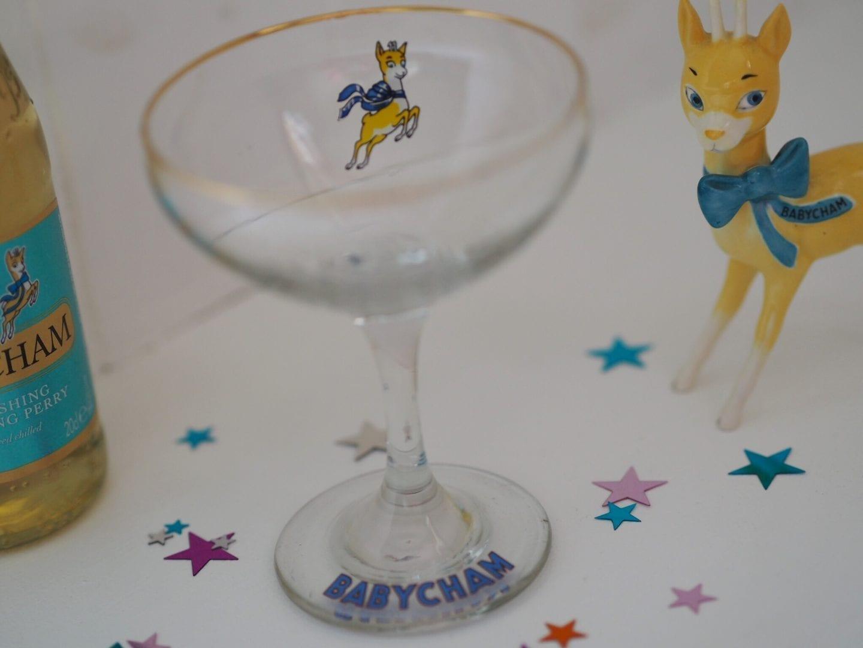 1970s Babycham Glass