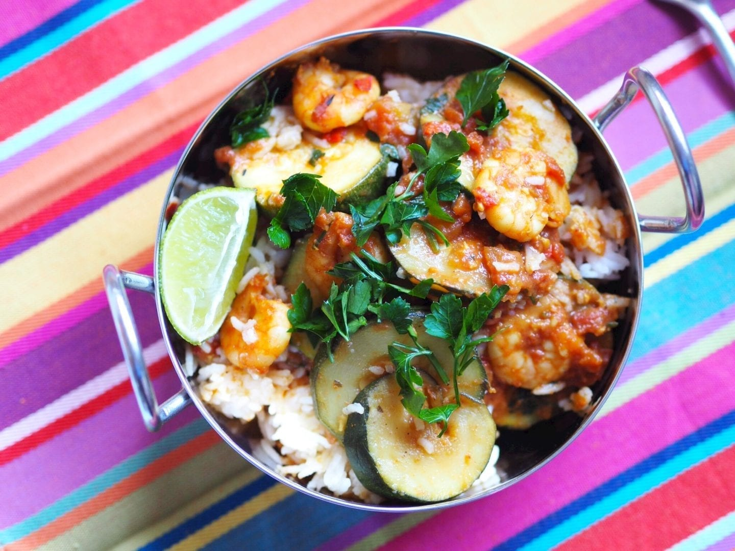 Fragrant Prawn and Courgette Curry
