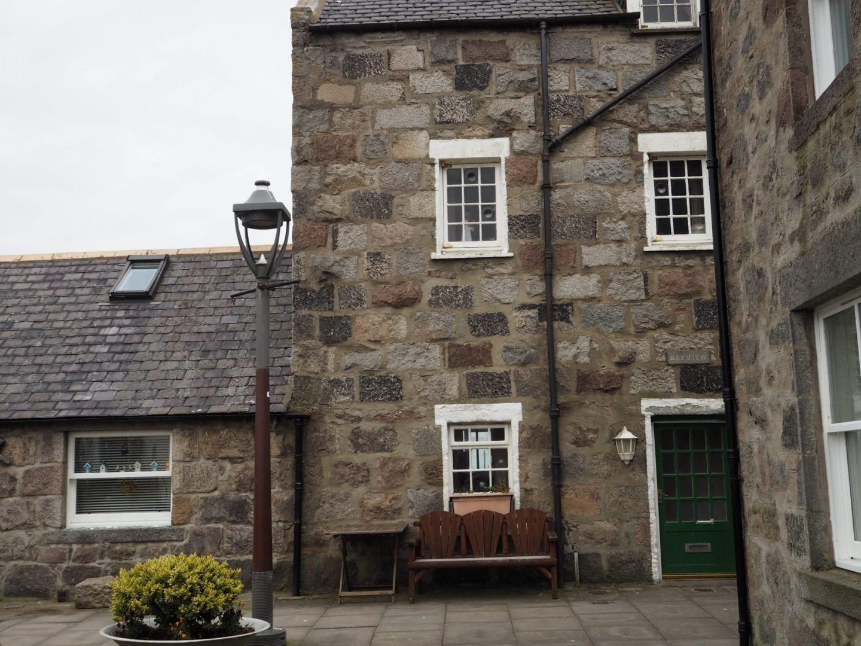 Houses in Footdee Aberdeen