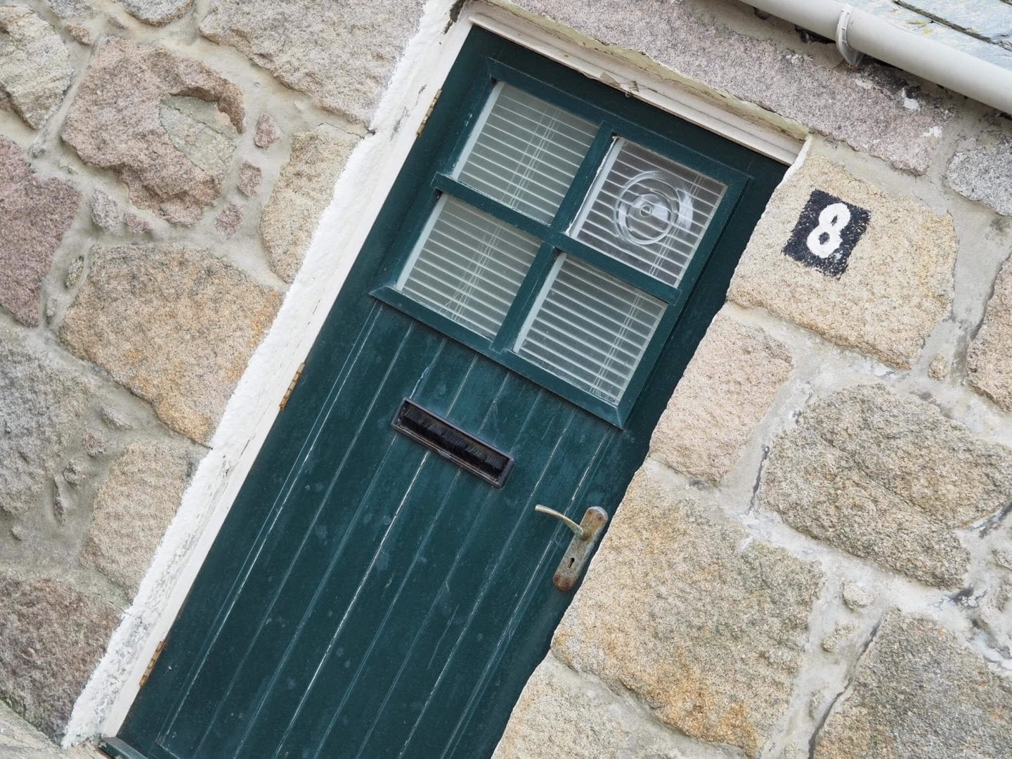 Cottage Door In Footdee Aberdeen