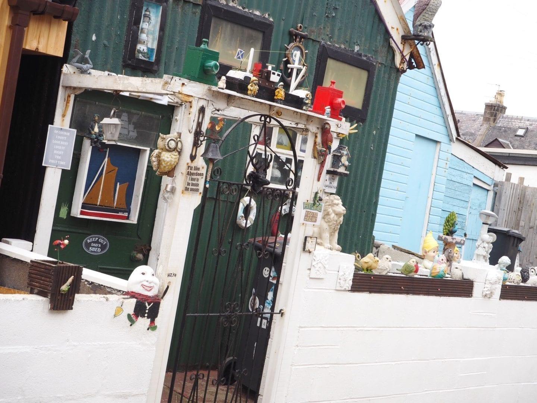 Outbuildings In Footdee Aberdeen