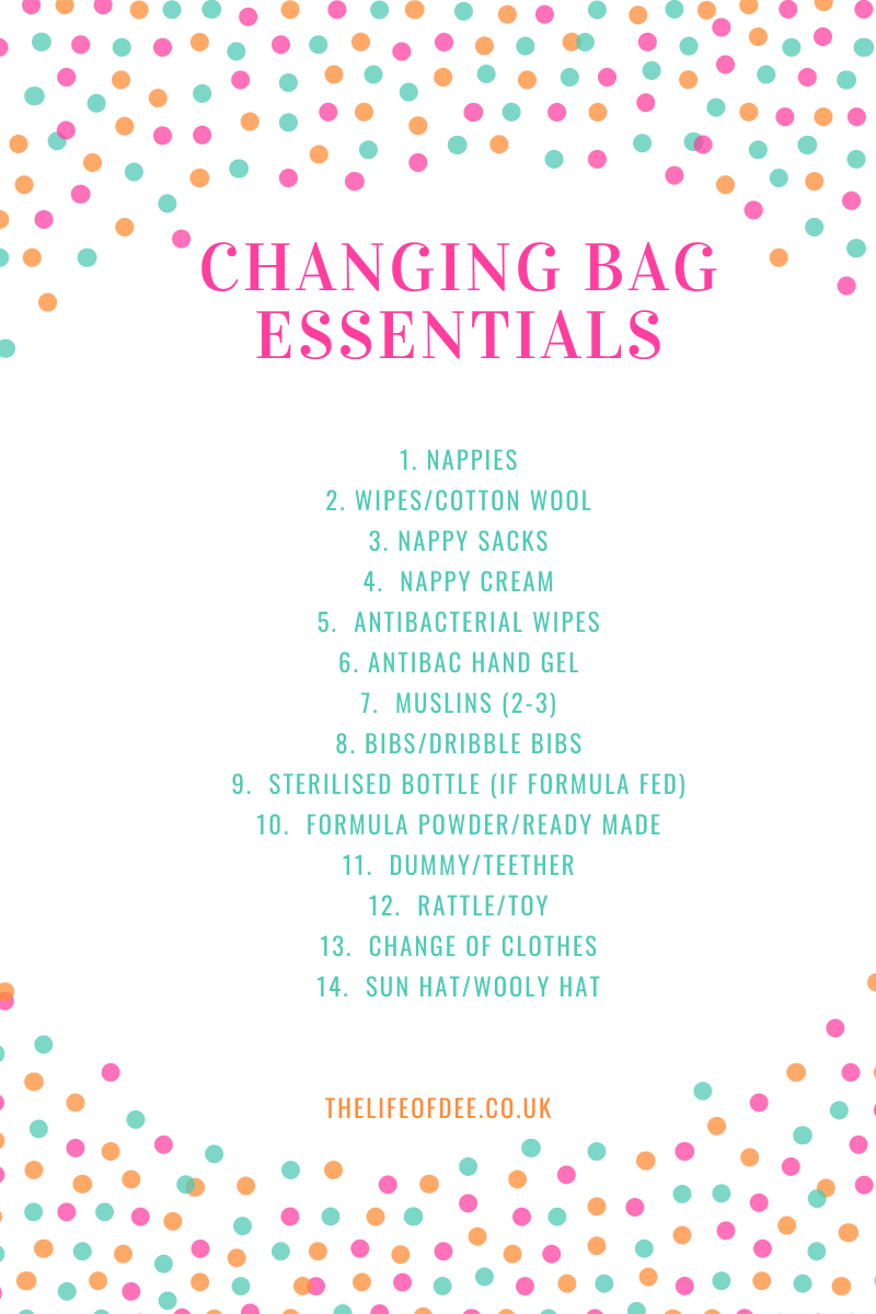 Changing Bag Essentials