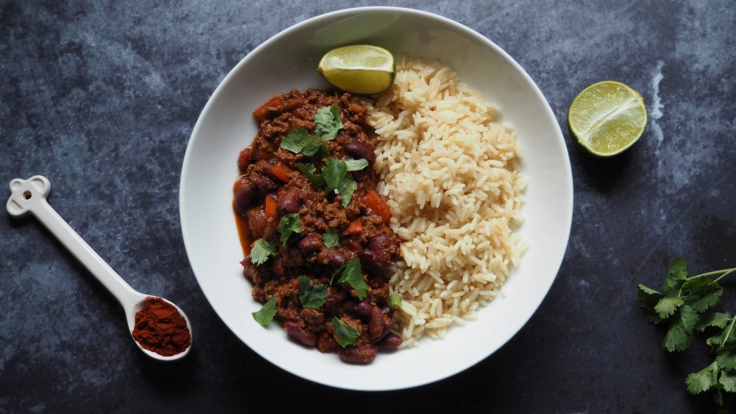 About Me | Food - Chilli Con Carne
