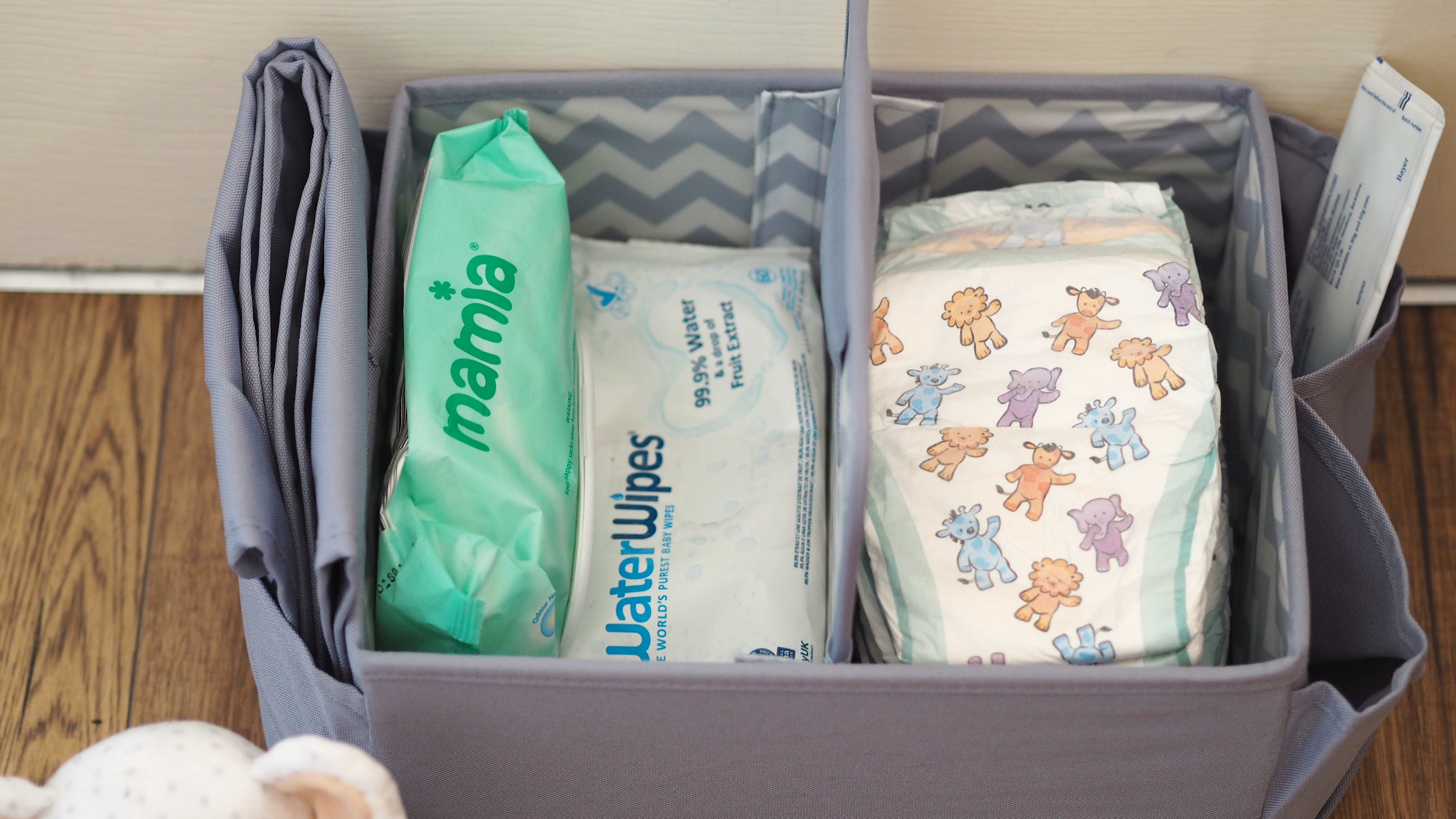 Aldi Baby and Toddler Event Haul Nappy Caddy