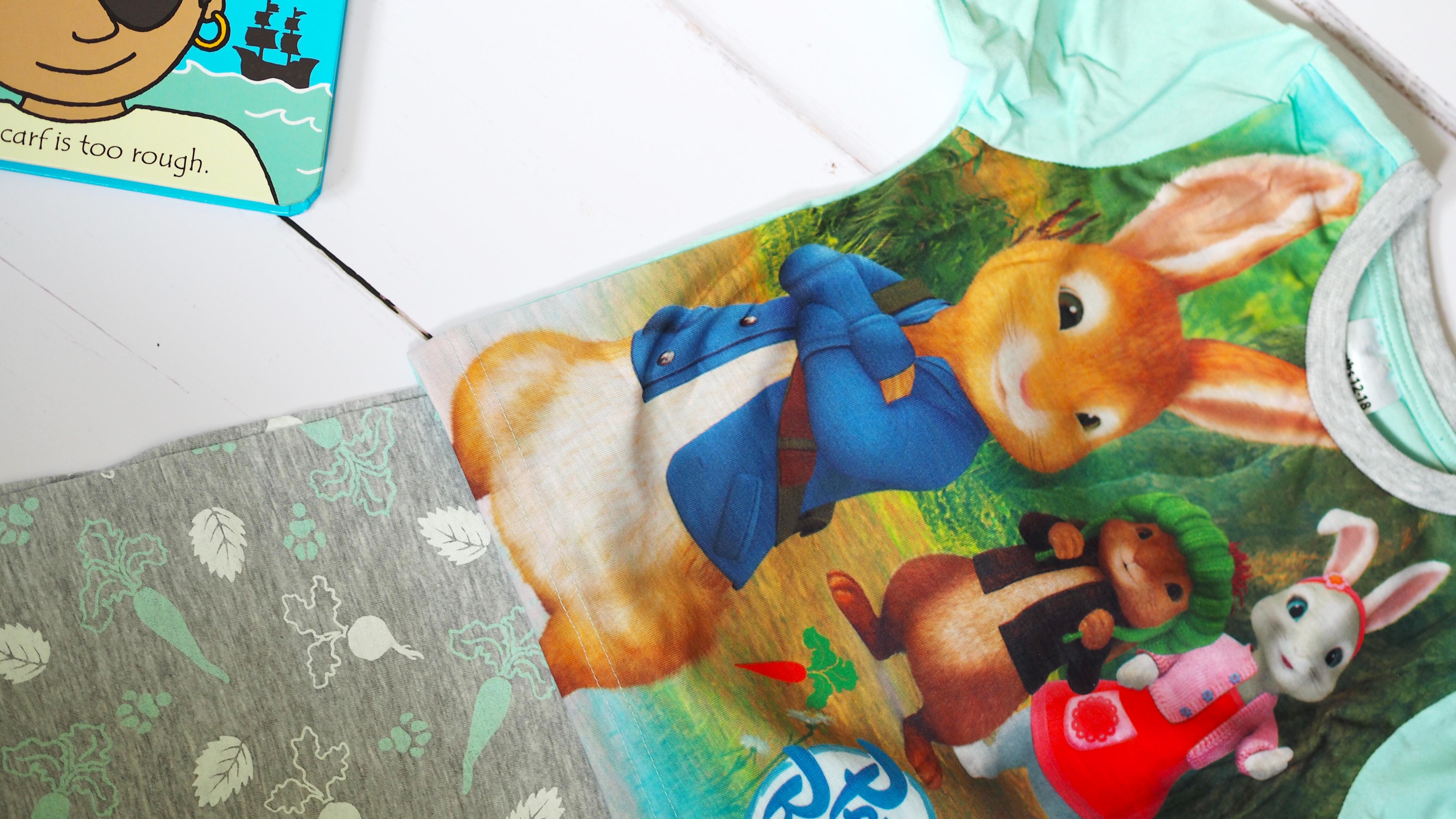 Aldi Baby and Toddler Event Haul Peter Rabbit Pyjamas