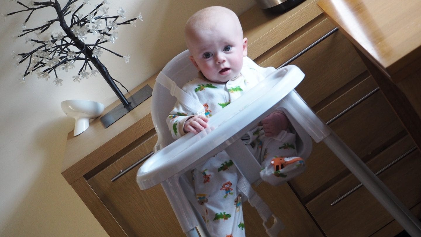 Aldi's Baby and Toddler Event Mamia High chair