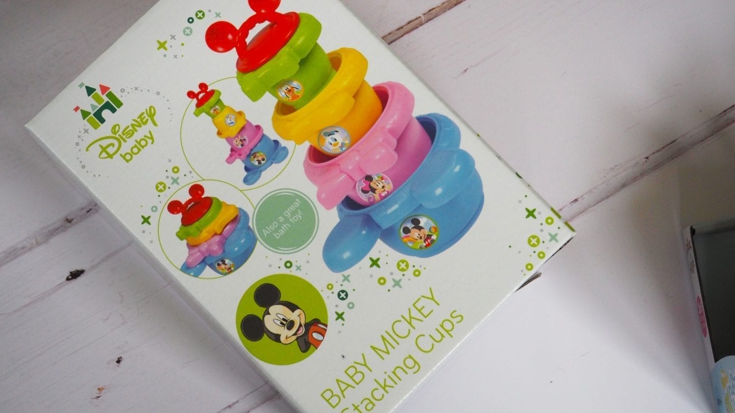 Baby Mickey Stacking Cups