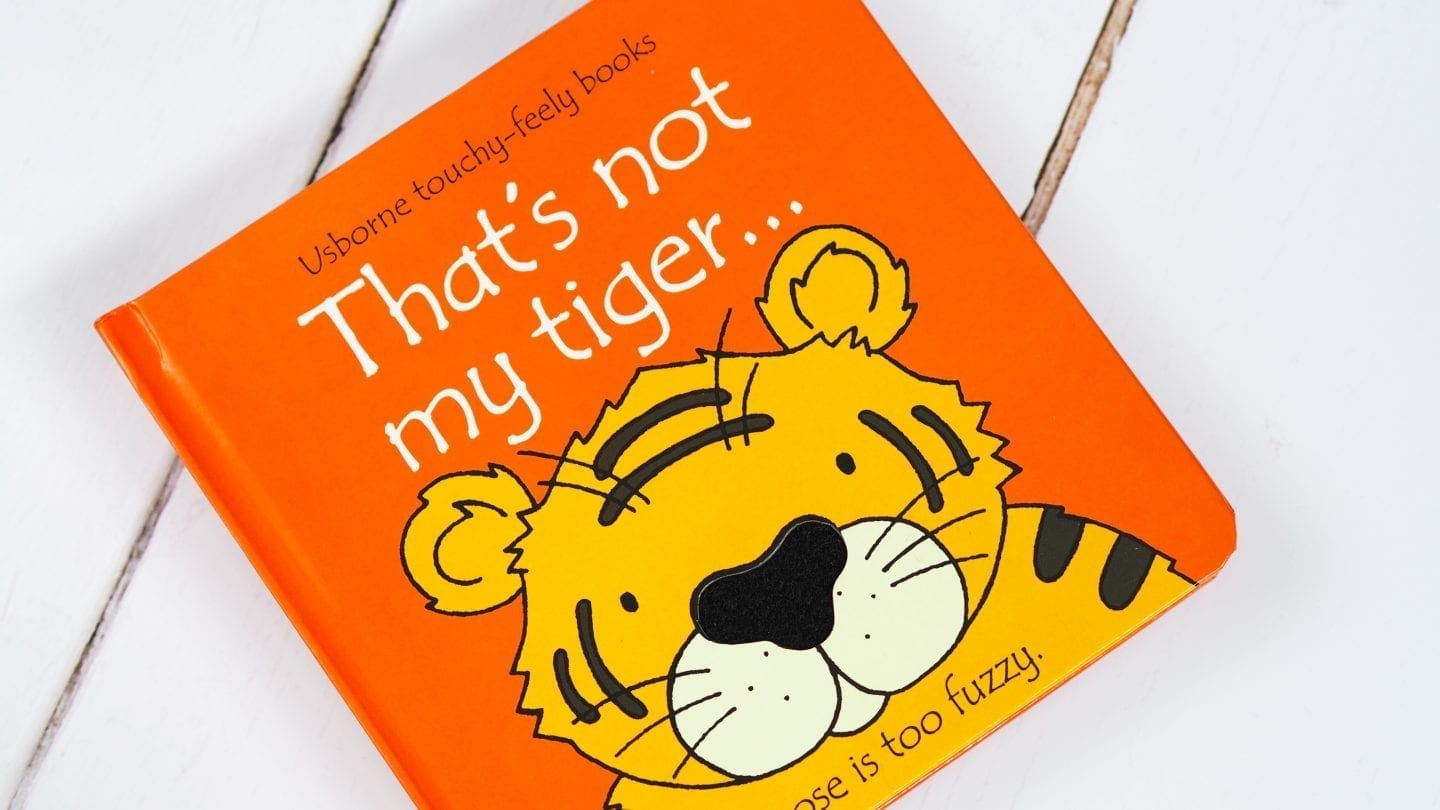 That's Not My Tiger Book