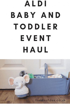 Aldi's Baby and Toddler Event Haul Lots of savings can be made on baby items from Aldi