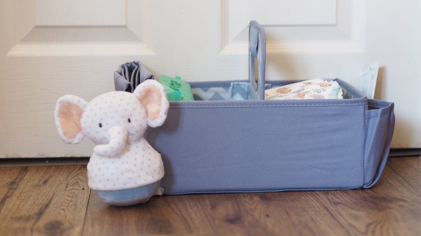 Aldi's Baby and Toddler Event Haul Nappy Caddy
