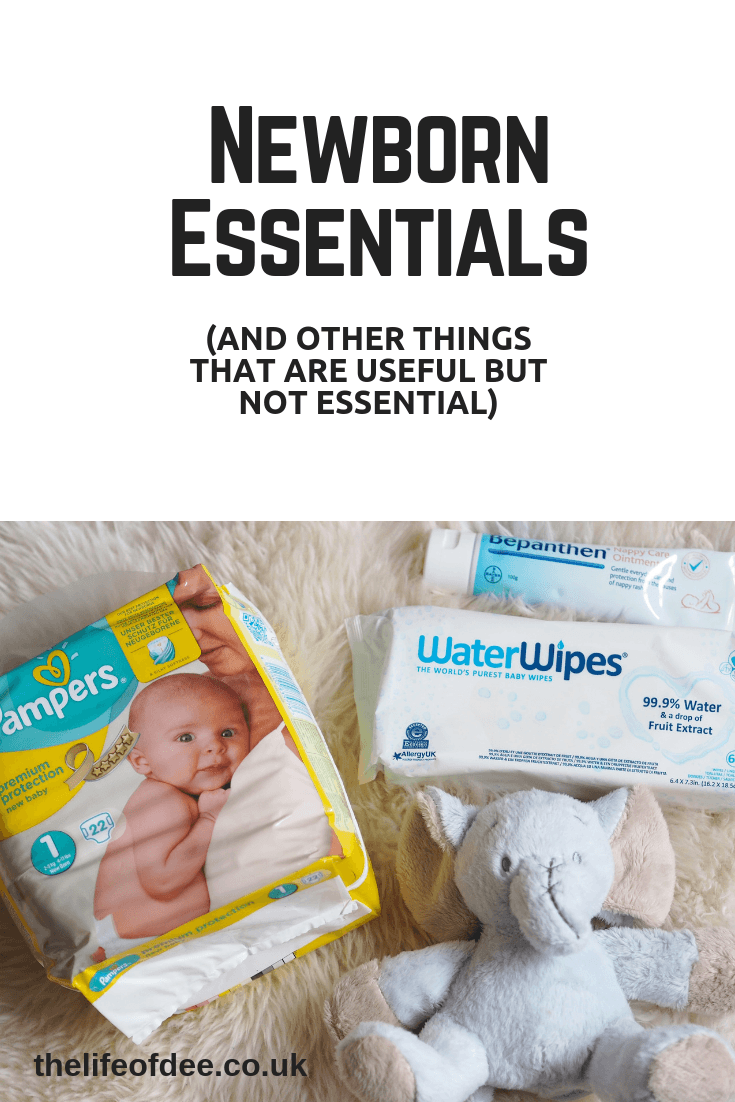 Newborn Essentials | Things you need for your newborn's first few weeks. #newborn #essentials #must #haves