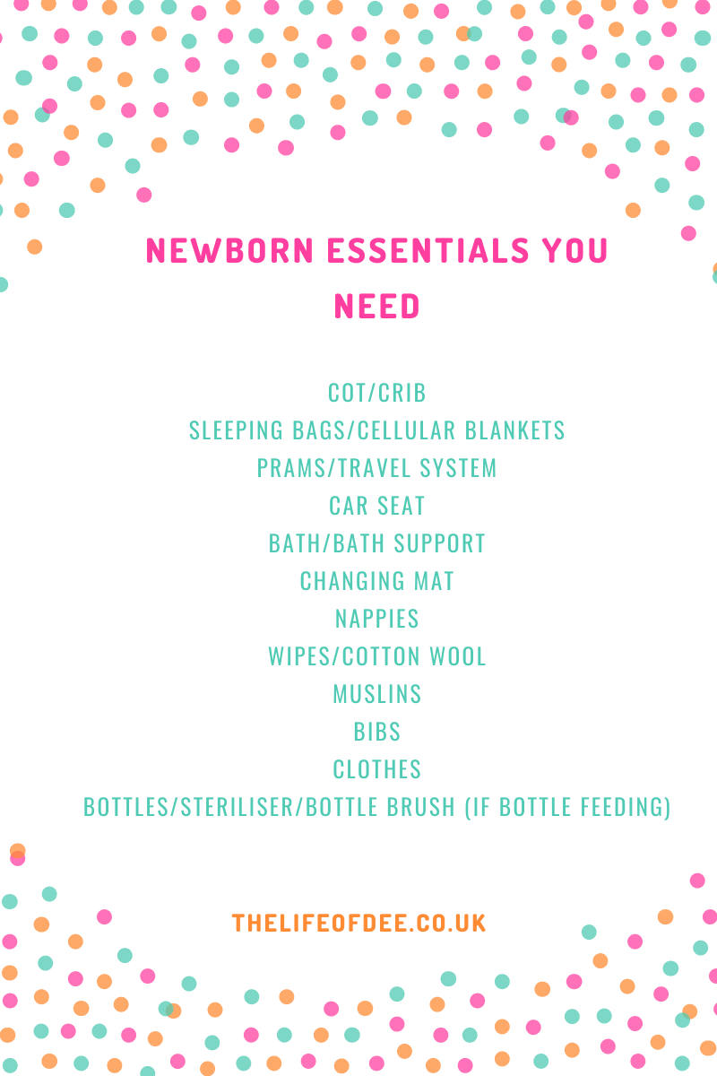 Newborn Essentials You Need | These are the things you really need for your newborn baby
