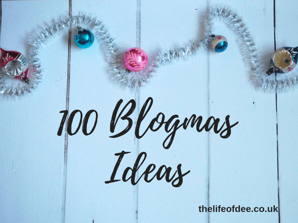 100 Blogmas Ideas | Are you doing #blogmas this year? Here are 100 #christmas and #winter #themed #blog #post #ideas