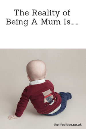 The Reality Of Being A Mum Is..... 18 things that you realise when you become a mum. #mum #mom #life #humour