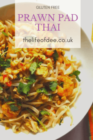 Love Thai food? Then this Pad Thai recipe is a definite winner! This gluten and dairy free Prawn Pad Thai is packed full of flavour with chilli and lime, is easy to make and will appear regularly on your menu.