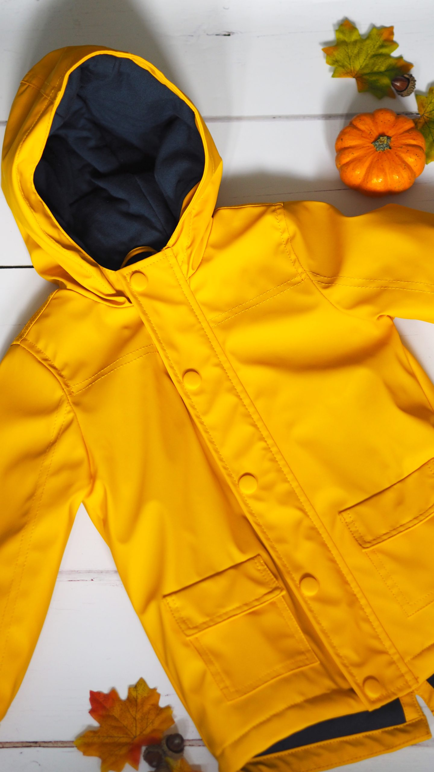 Yellow Raincoat | Toddler Boy Autumn Clothing Haul