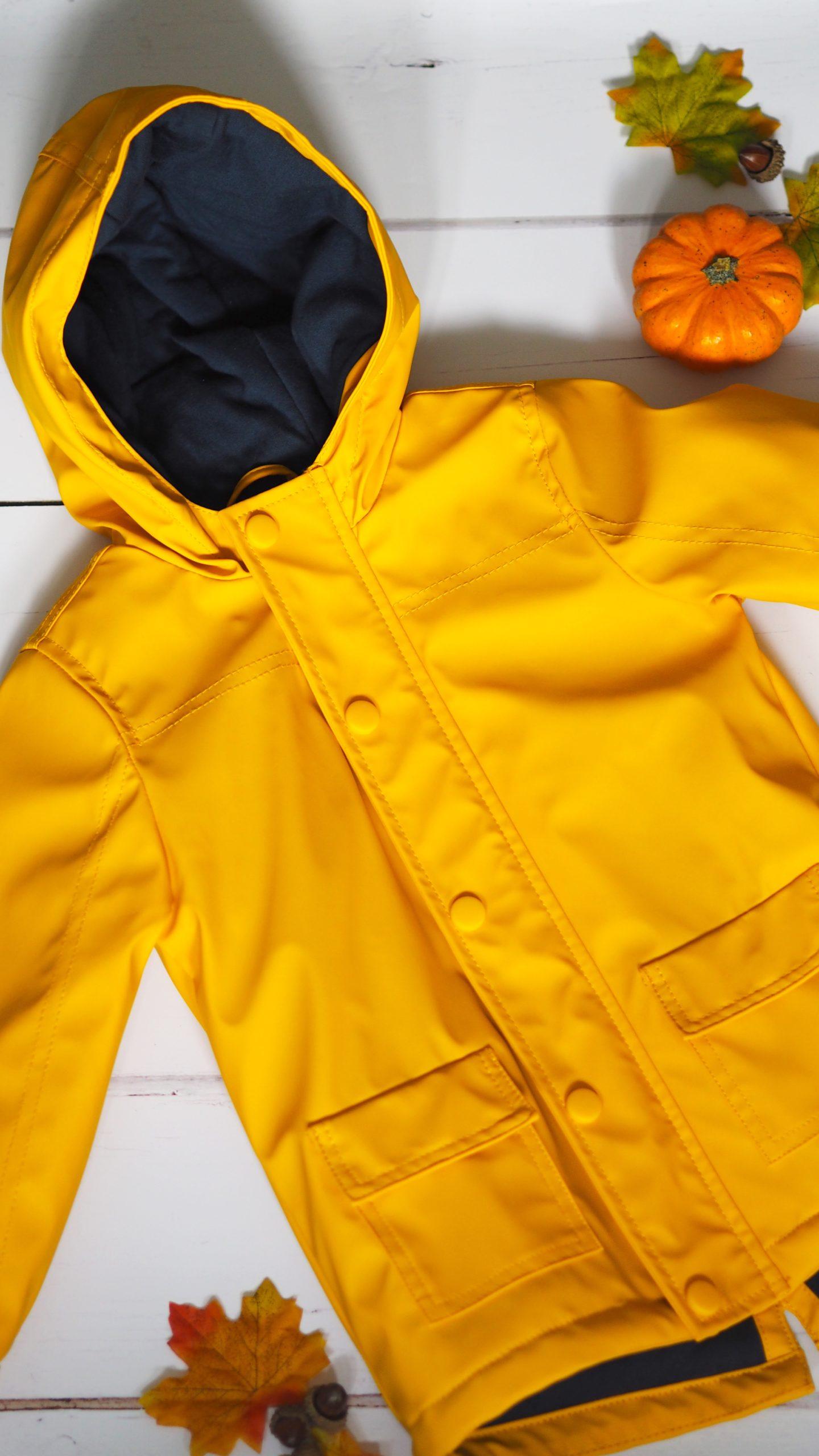 Yellow Raincoat | Toddler Boy Autumn Clothing Haul