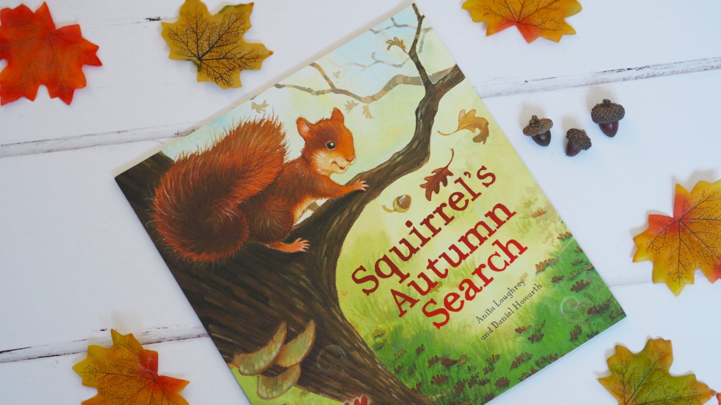 Squirrel's Autumn Search
