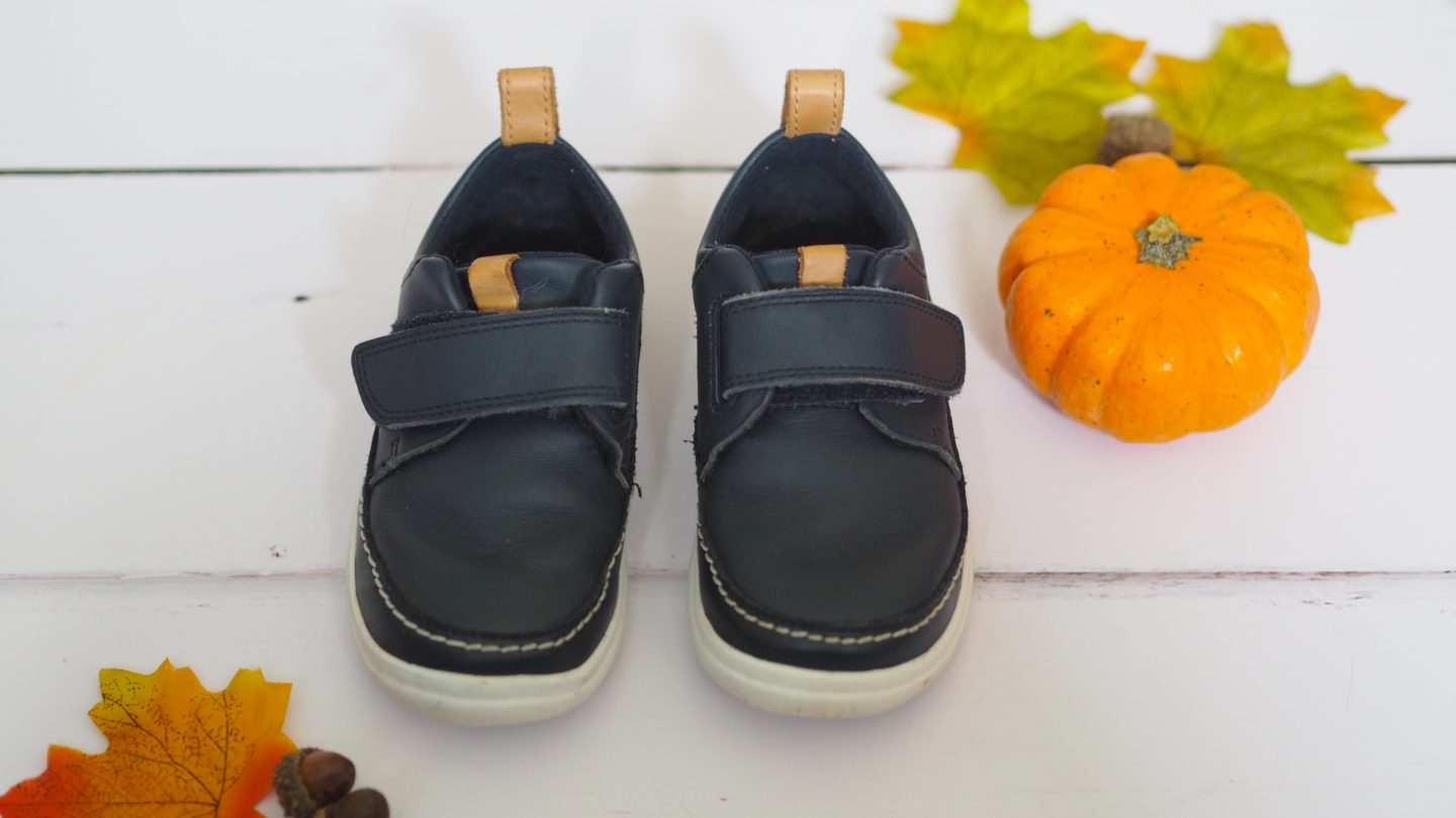 Clark's Cloud Ember Navy Toddler Shoes