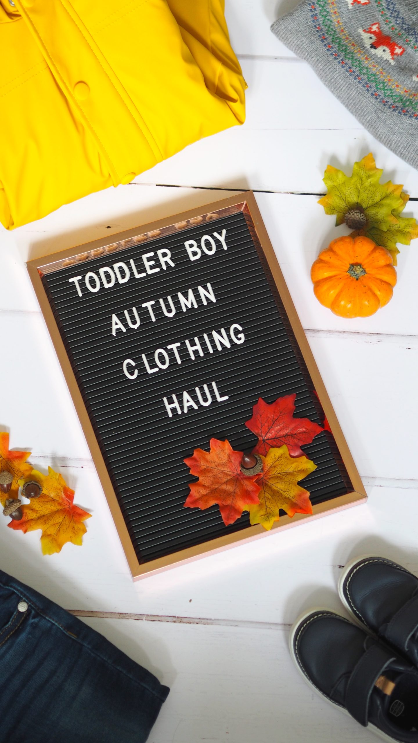 Toddler Boy Autumn Clothing Haul