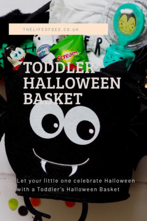 🎃 Let your little one celebrate Halloween this year with some spooky trick and treats with a Toddler's Halloween Basket. 🎃