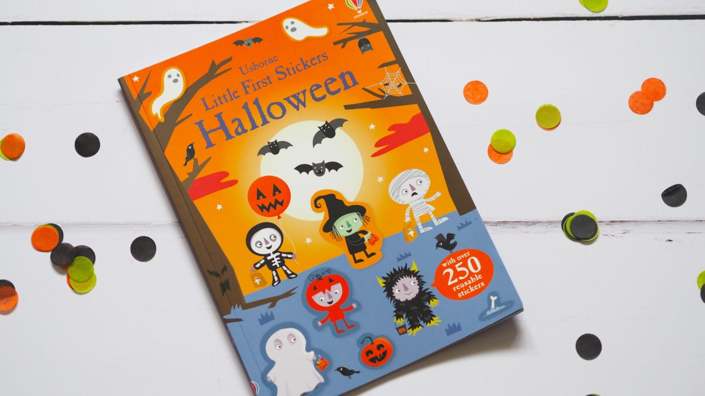 Usborne Halloween Sticker Book