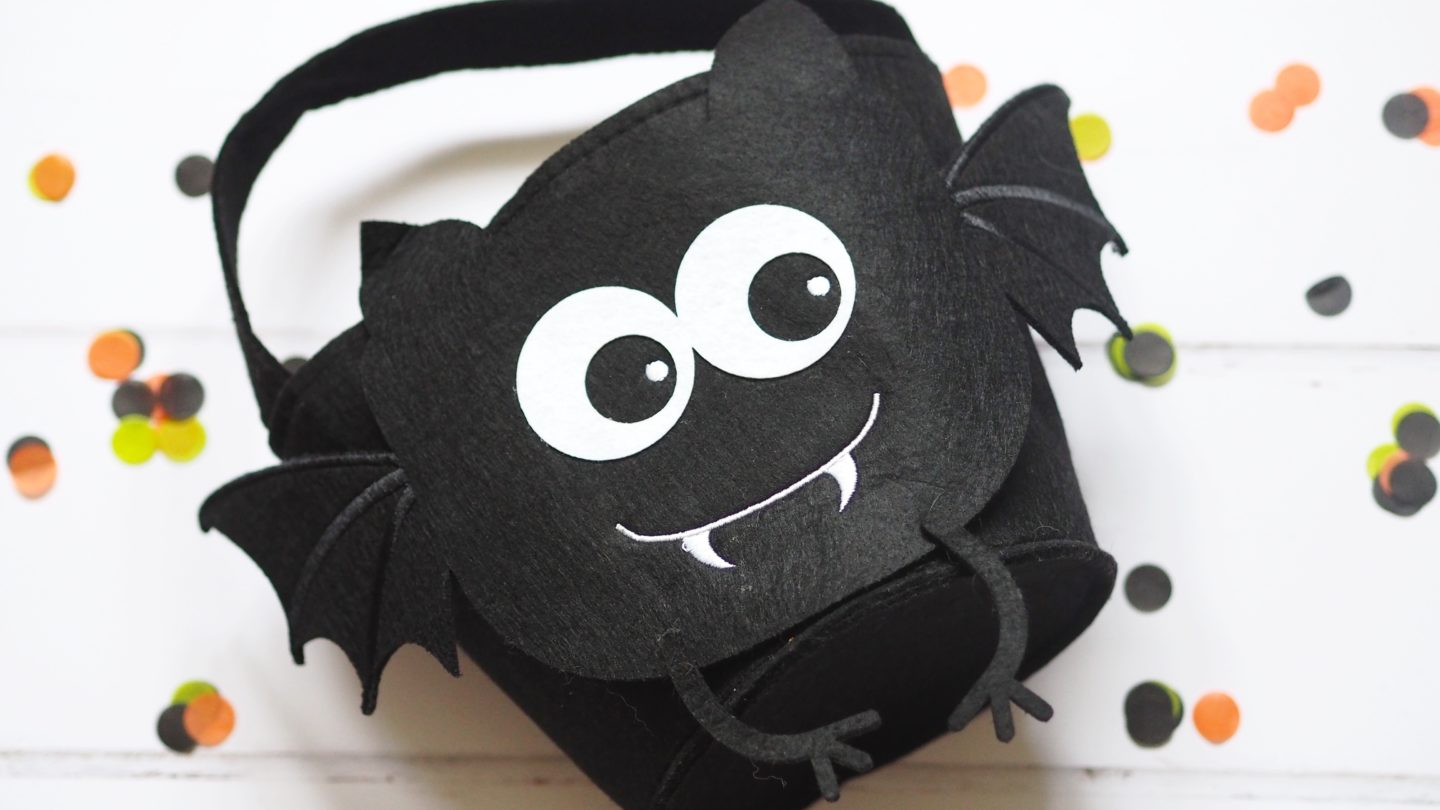 Toddler's Halloween Basket | Let your toddler celebrate Halloween with some spooky tricks and treats