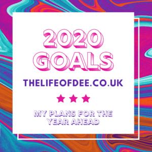 Happy New Year & 2020 Goals