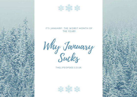 Why January Sucks | Why January is the worst month ever!