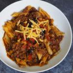 Hello Fresh Recipe Review | Beef Ragu Rigatoni with Olive & Tomato Salsa