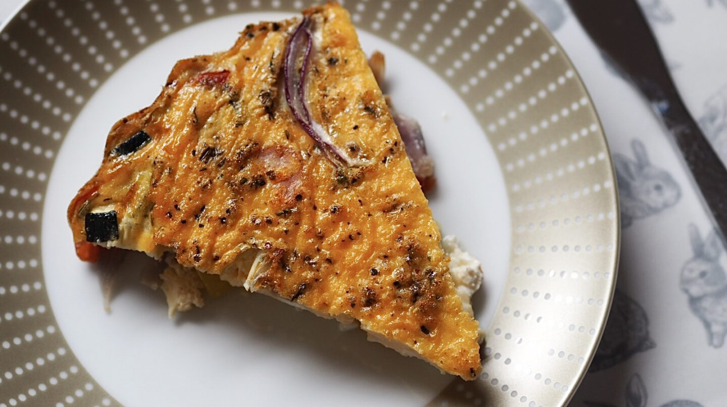 Summer Vegetable Crustless Quiche Syn Free