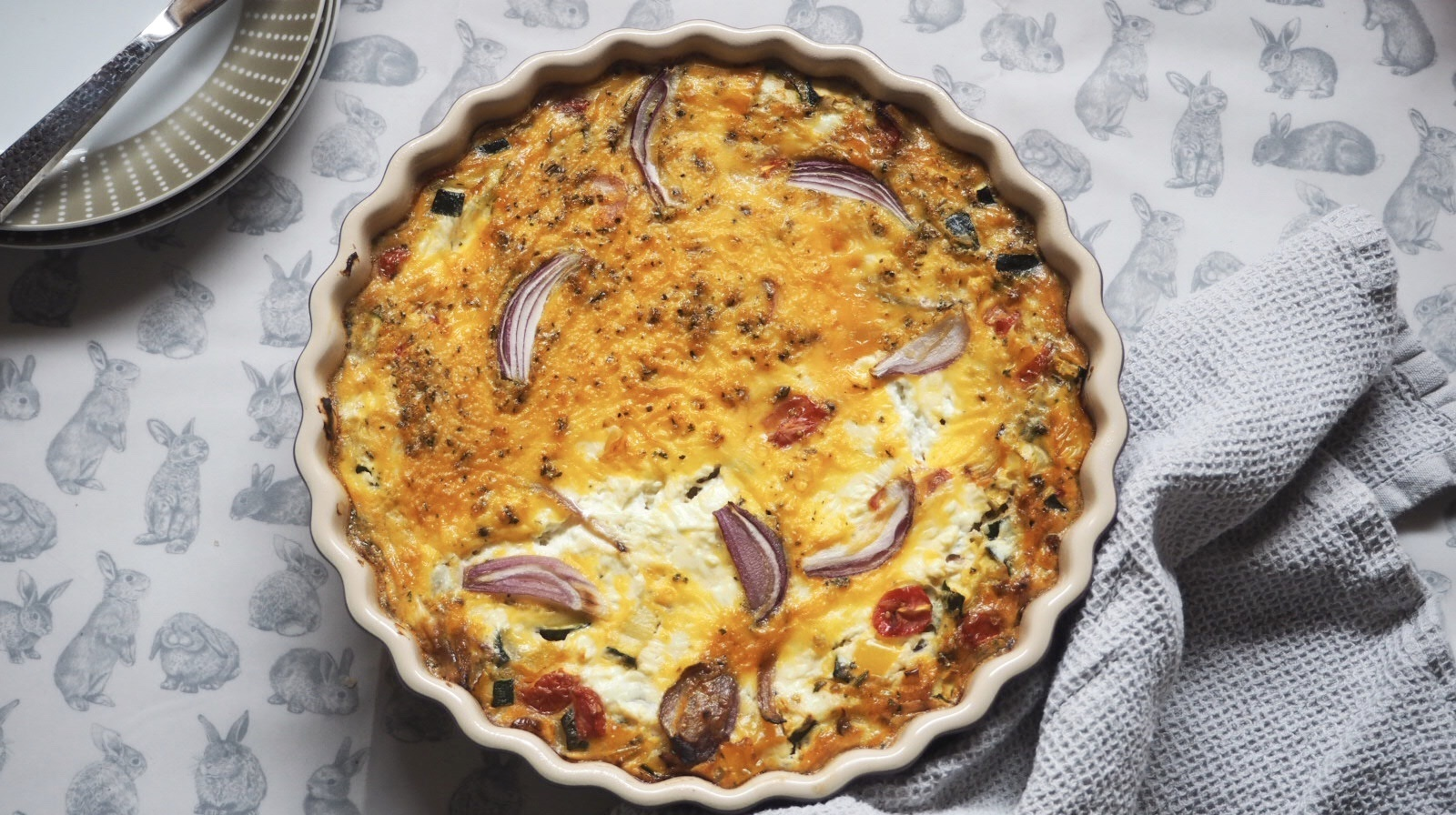 Slimming World Picnic Ideas | Summer Vegetable Crustless Quiche