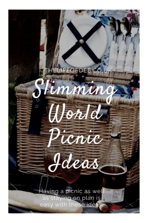 Slimming World Picnic Ideas | You can still eat on plan while having a picnic