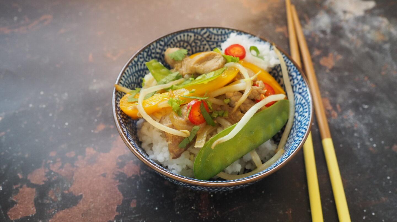 Low Syn Pork Stir Fry | Slimming World
