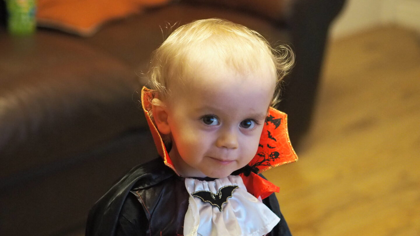 Vampire Toddler Halloween Costume